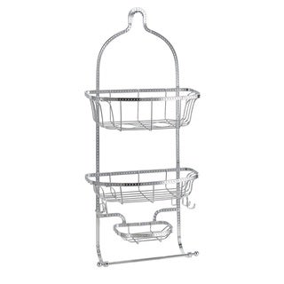 Bath Bliss Hammered Wire Shower Caddy