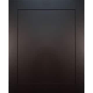 Everyday Cabinets 23.5-inch Dark Espresso Shaker Decorative Door