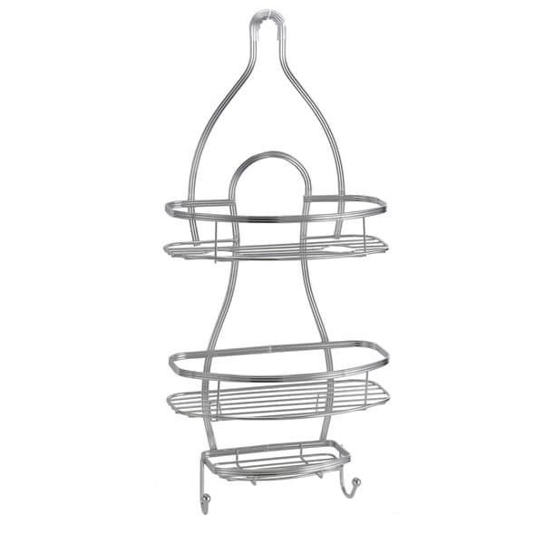 Shop Bath Bliss Triple Wire Shower Caddy - Free Shipping On Orders ...