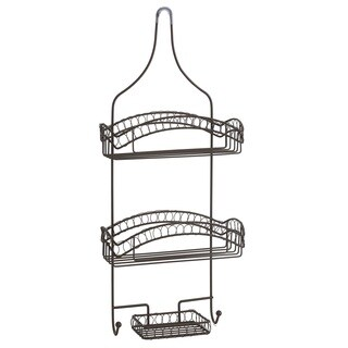 Bath Bliss Curls Design Shower Caddy
