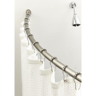 Bath Bliss Stainless Steel Shower Rod