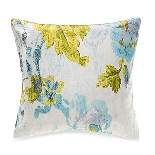 Tracy Porter Ardienne Printed Floral Velvet 18-inch Decorative Pillow
