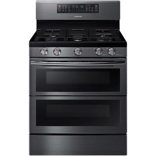 Samsung Black 30-inch Slide-in Gas Range