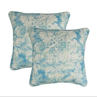Sherry Kline Vienne Blue 18-inch Decorative Pillow (set of 2)