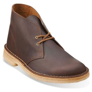 Men's Clarks Desert Boot Camel Leather