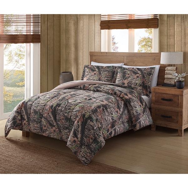 Remington Mount Monadnock Printed Camo Comforter Mini Set