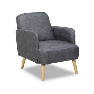 Harper Mid-century Fabric Accent Chair
