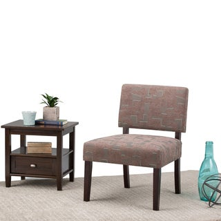 WYNDENHALL Lombard Pattern Accent Chair