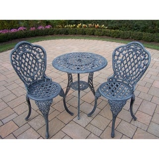 Dakota Cast Aluminum 3-Piece Bistro Set