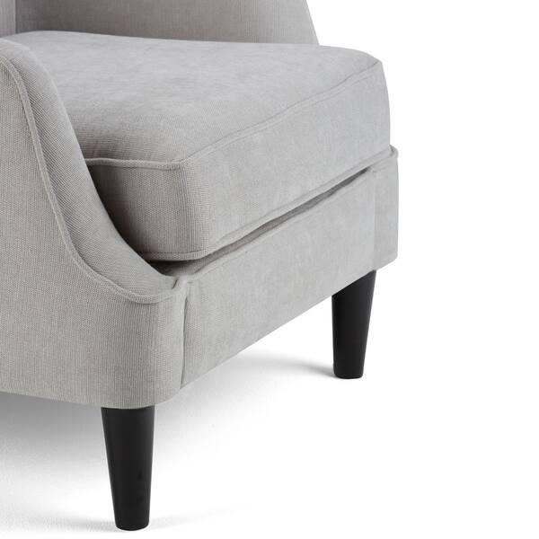 Remarkable Shop Wyndenhall Carlisle Light Dove Grey Tufted Club Chair Uwap Interior Chair Design Uwaporg