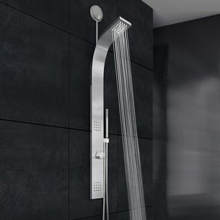 VIGO Retrofit Shower Panel System with Rain Shower Head