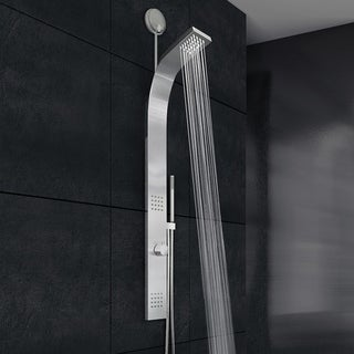 VIGO Leo Stainless Steel Retrofit Shower Massage Panel