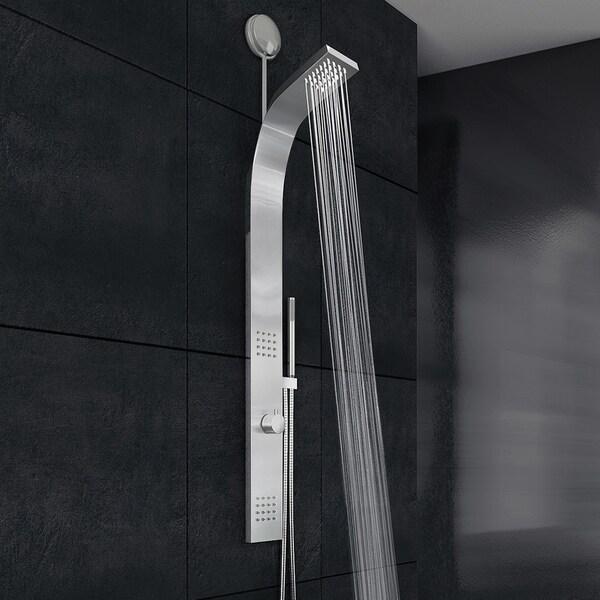 VIGO Leo Stainless Steel Retrofit Shower Massage Panel