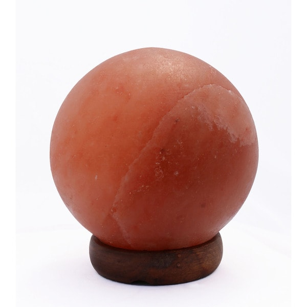 Manhattan Comfort Accentuations 7-inch Sphere-shaped Himalayan Salt Lamp With Dimmer
