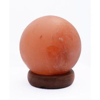 Manhattan Comfort Accentuations 5-inch Sphere-shaped Himalayan Salt Lamp With Dimmer