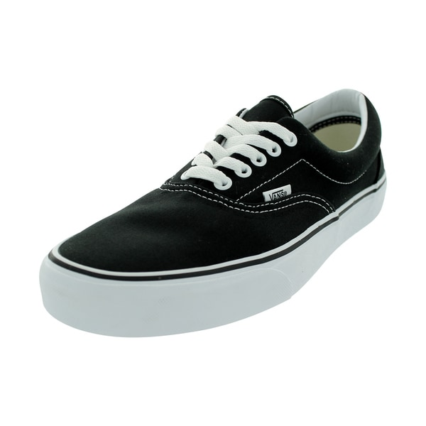 19ffd1ab906f6b Shop Vans Era Skate Shoes (Black) - Free Shipping Today - Overstock ...