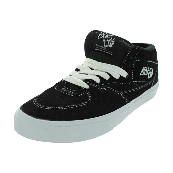 31e7e69a87 Shop Vans Half Cab Skate Shoes (Black) - Free Shipping Today ...