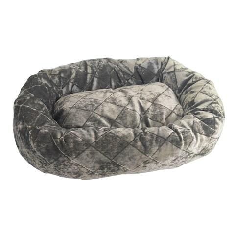 TeaCup Cotton-Blend Velour Pet Bed