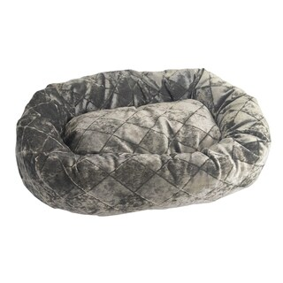 TeaCup Cotton-Blend Velour Pet Bed