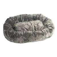 Armarkat Pearl And Putty Heavy Duty Canvas Cat House Bed