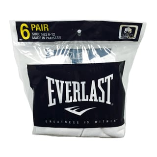 Everlast Men's High Ankle Socks (Pack of 6)