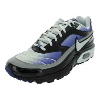 Nike Air Max Modular 8 Running Shoes 8 (White/White/Wicked Purple/Black )