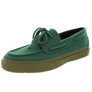 Sperry Top-Sider Men's Bahama 2-Eye Honey Green Boat Shoe