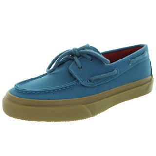 Sperry Top-Sider Men's Bahama 2-Eye Honey Blue Boat Shoe