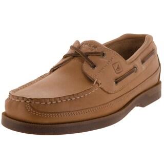 Sperry Top-Sider Men's Mako 2-Eye Moc Oak Boat Shoe