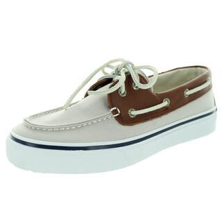 Sperry Top-Sider Men's Bahama Gray/Tan Boat Shoe