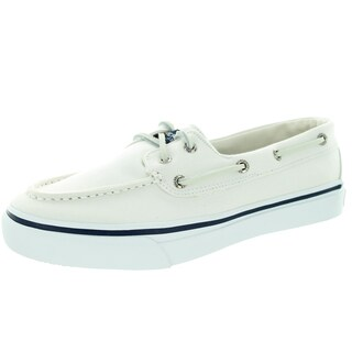 Sperry Top-Sider Men's Bahama 2-Eye White Boat Shoe