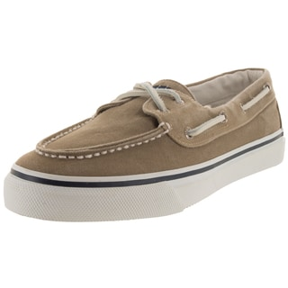 Sperry Top-Sider Men's Bahama 2-Eye Khaki/Oyster Boat Shoe