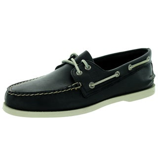 Sperry Top-Sider Men's Authentic Original 2-Eye Black Boat Shoe