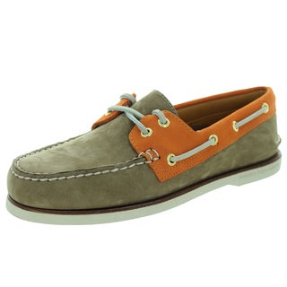 Sperry Top-Sider Men's Gold Authentic Original Tan/Orange Boat Shoe