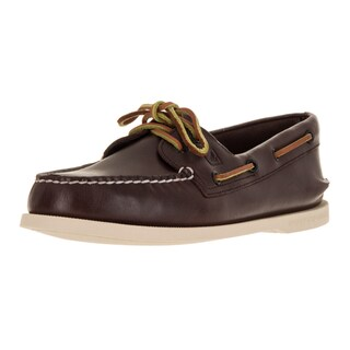 Sperry Top-Sider Men's A/O 2-Eye Wide Brown Boat Shoe