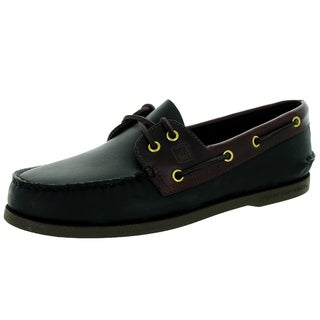 Sperry Top-Sider Men's Authentic Original 2-Eye Black/Amarreto Boat Shoe