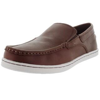 Sebago Men's Baet Slip On Dark Brown/Waxy Leather Loafers & Slip-Ons Shoe