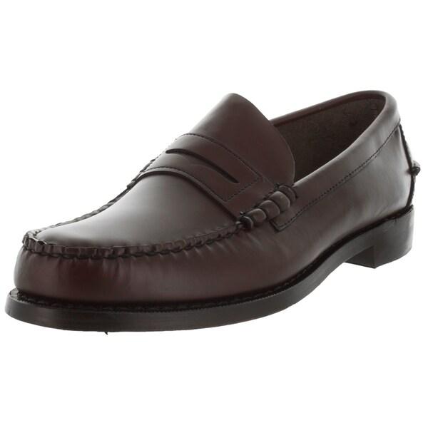 Shop Sebago Men's Classic E Whiskey Loafers & Slip-Ons ...