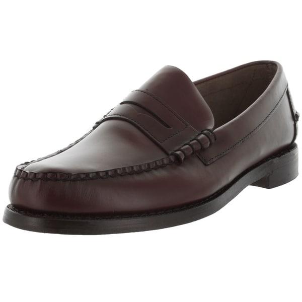 f050fd2223 Shop Sebago Men s Classic E Antique Brown Loafers   Slip-Ons Shoe ...