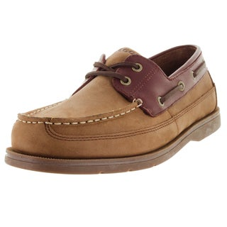 Sebago Men's Grinder Chocolate Nubuck/Brown Boat Shoe