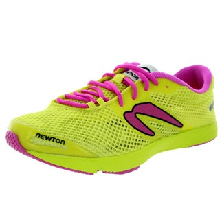 Newton Running Women's Mv3 Yellow/Pink Running Shoe