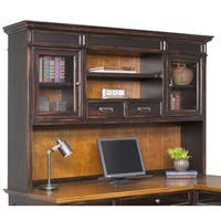 Hatherford Distressed Black Hutch
