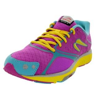 Newton Running Women's Motion Iii Purple/Aqua/Yellow Running Shoe