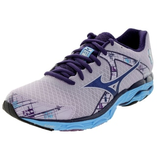 Mizuno Women's Wave Inspire 10 Purple/Navy/Blue Running Shoe