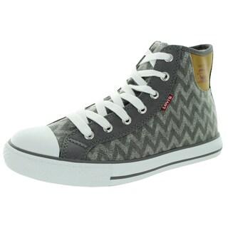 Levi'S Women's Hamilton Buck Zig Zag Charcoal Casual Shoe