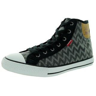 Levi'S Women's Hamilton Buck Zig Zag Black Casual Shoe