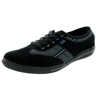 Keds Women's Craze T-Toe Black/Blue Casual Shoe