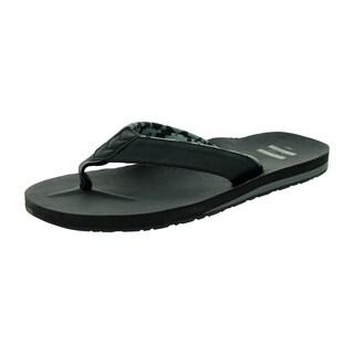 Toms Men's Carilo Flip Flop Black Sandal