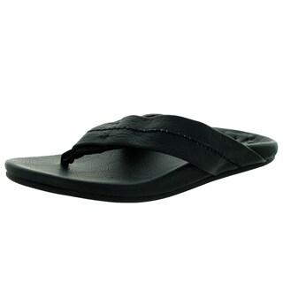 Toms Men's Semana Flip Flop Black Sandal