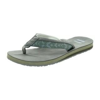 Toms Men's Verano Flip Flop Ash Olive Sandal